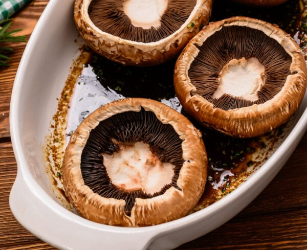 Grilled Portobello Mushrooms Best Easy Marinade Wellplated Com