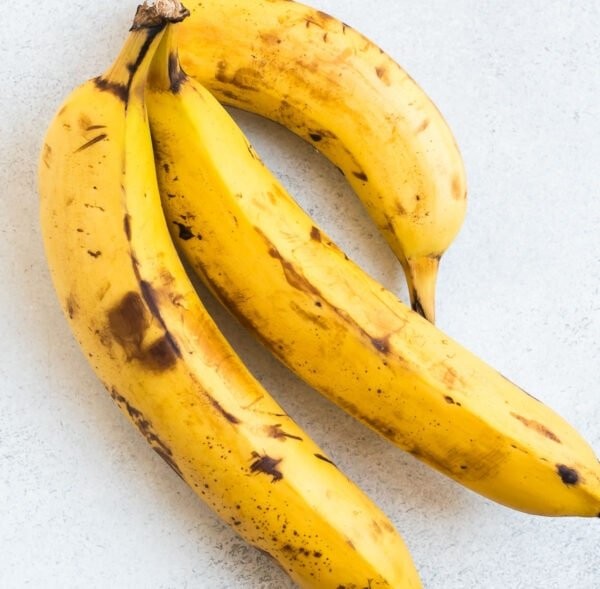 A bunch of ripe bananas
