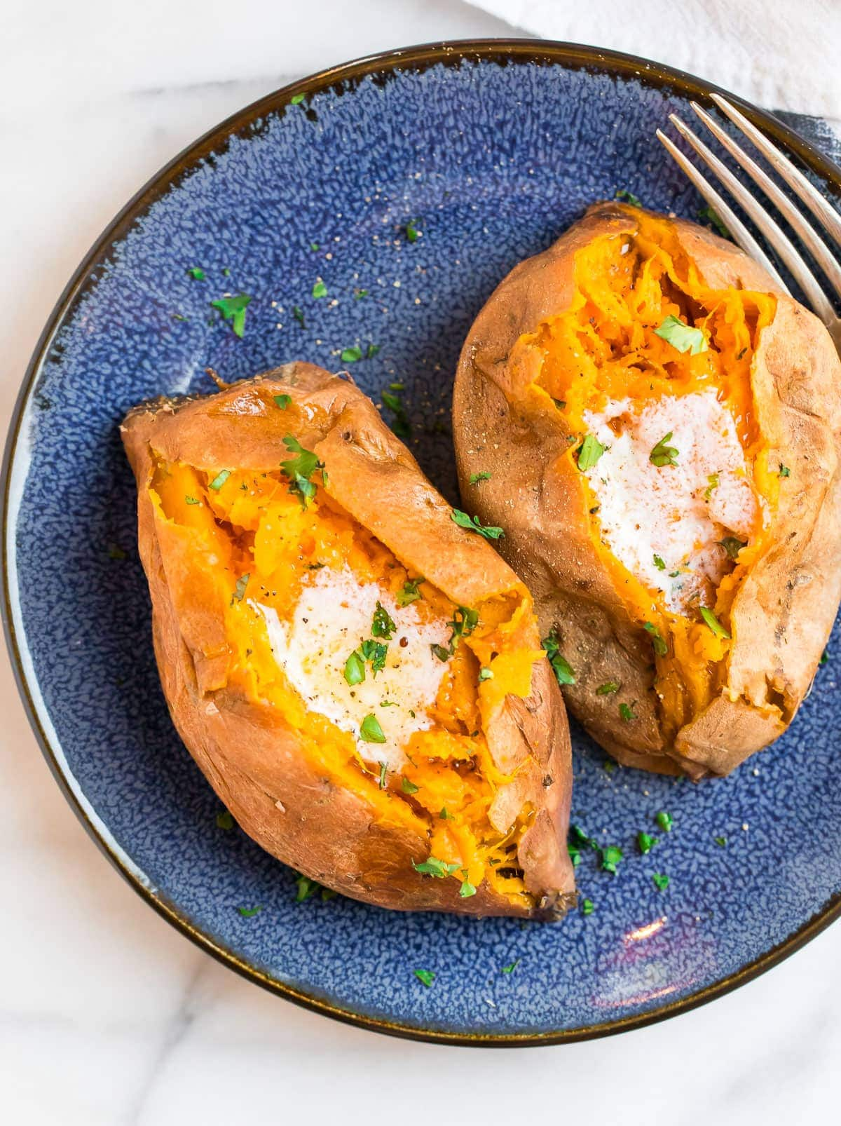 Instant Pot Sweet Potatoes {Recipe, Cook Time and Video}  Well Plated