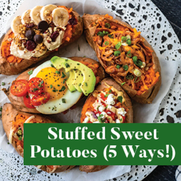 Stuffed Sweet Potatoes from The Well Plated Cookbook