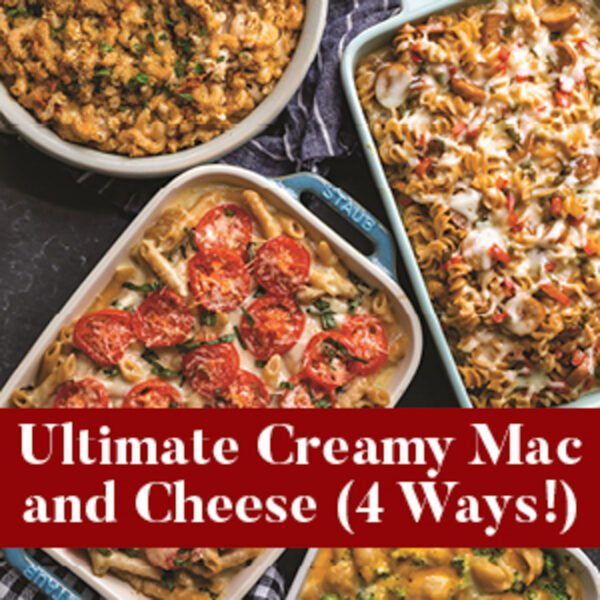 Ultimate Creamy Mac and Cheese from The Well Plated Cookbook