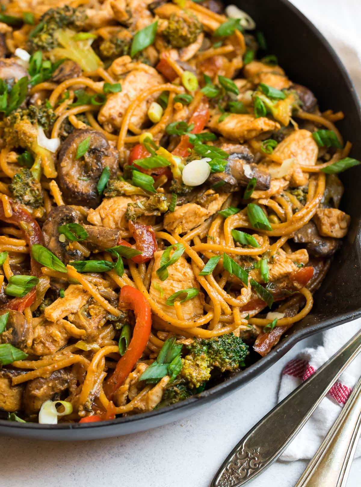 Stir Fry Noodles Fast Healthy Recipe Wellplated Com