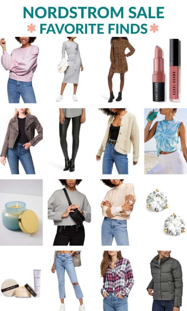 2020 Nordstrom Annual Sale Collage with Top Finds