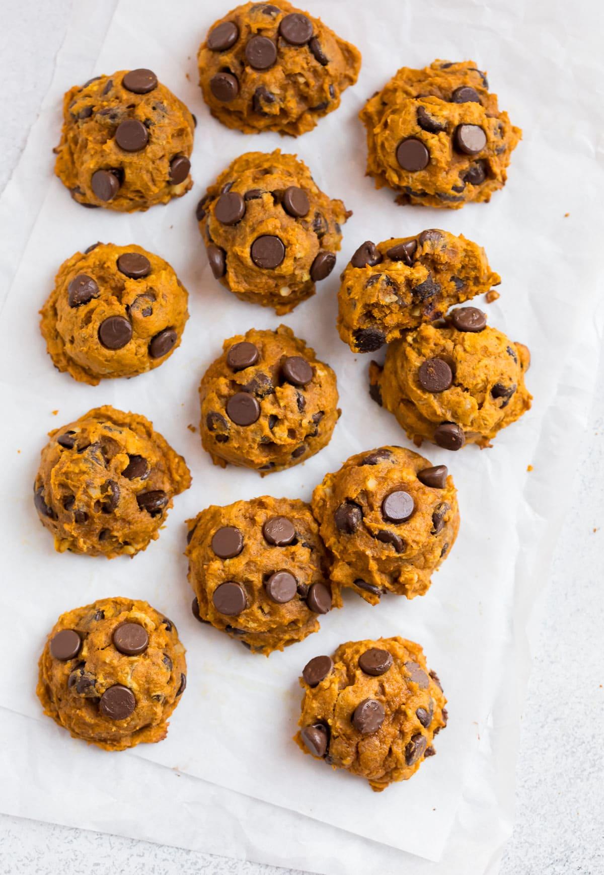 Easy and healthy pumpkin cookies