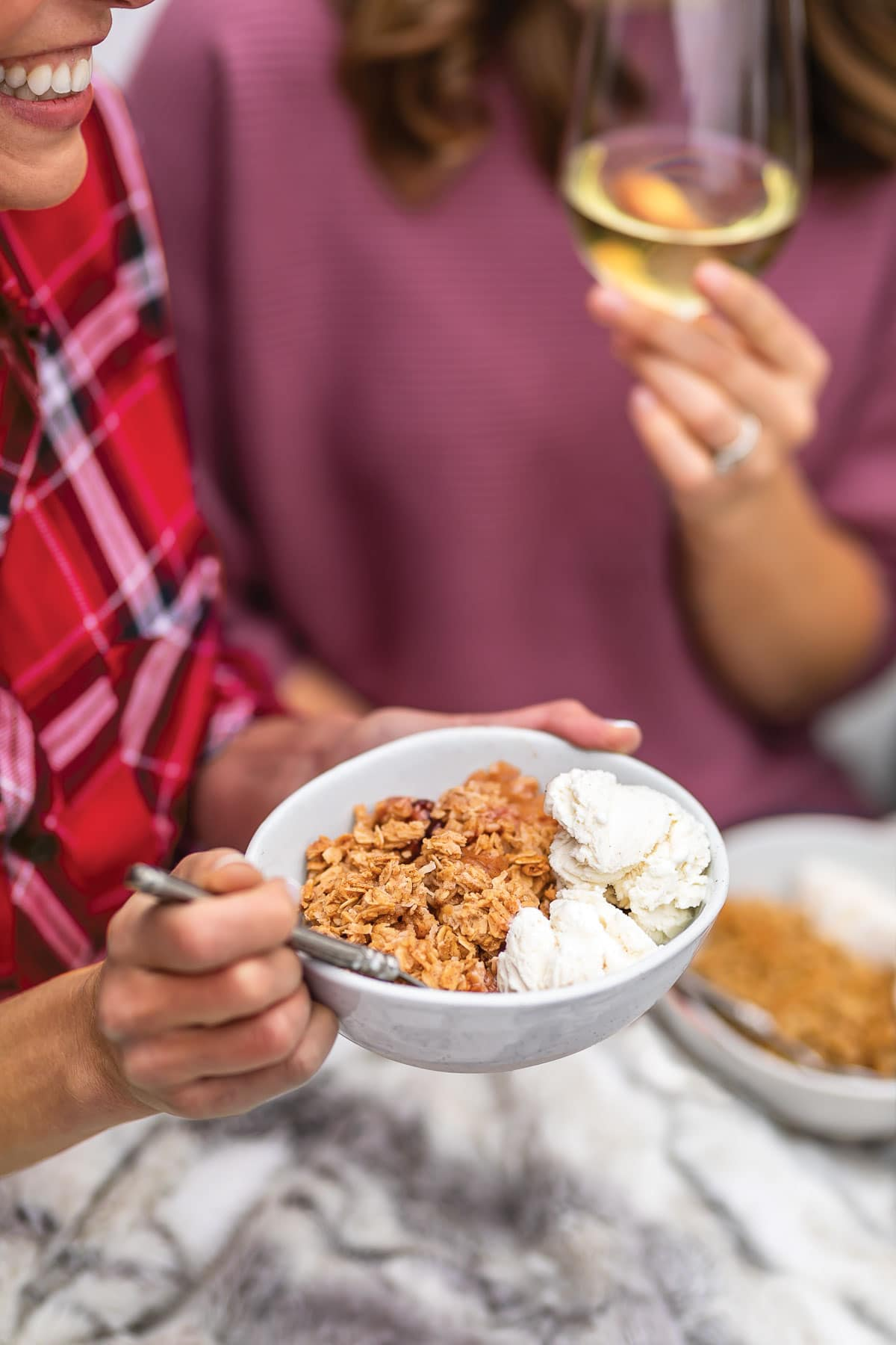 Everyone's Invited Apple Crisp from The Well Plated Cookbook