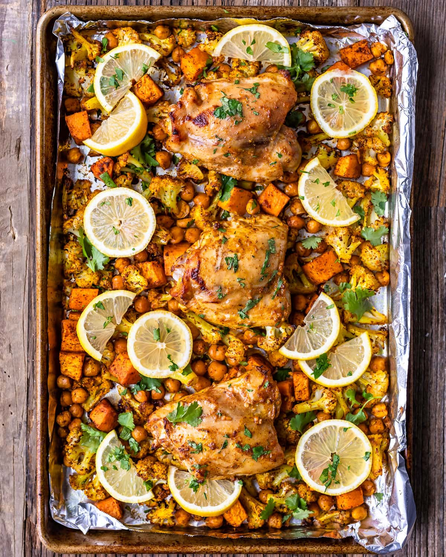Sheet Pan Tandoori Chicken from the Well Plated Cookbook