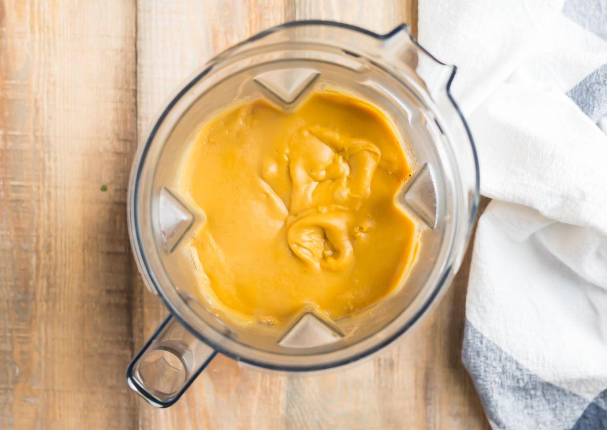 Soup in a blender