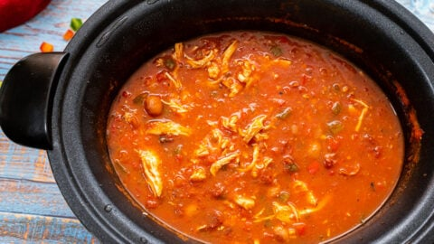 Soup in a slow cooker