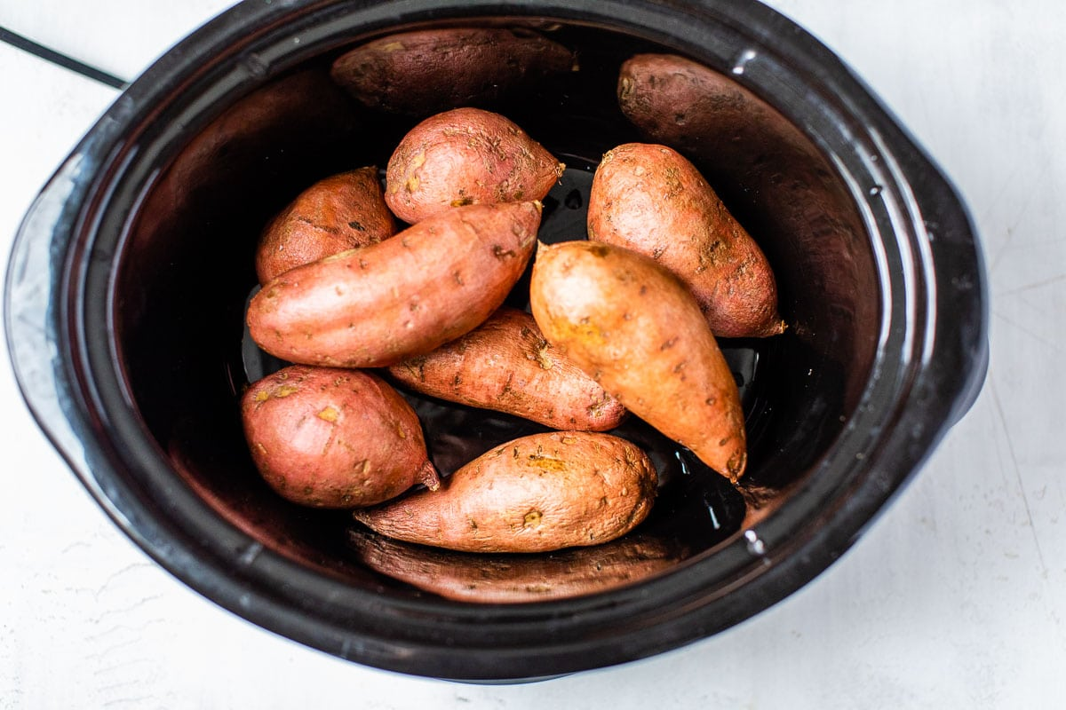 Easy crockpot sweet potatoes