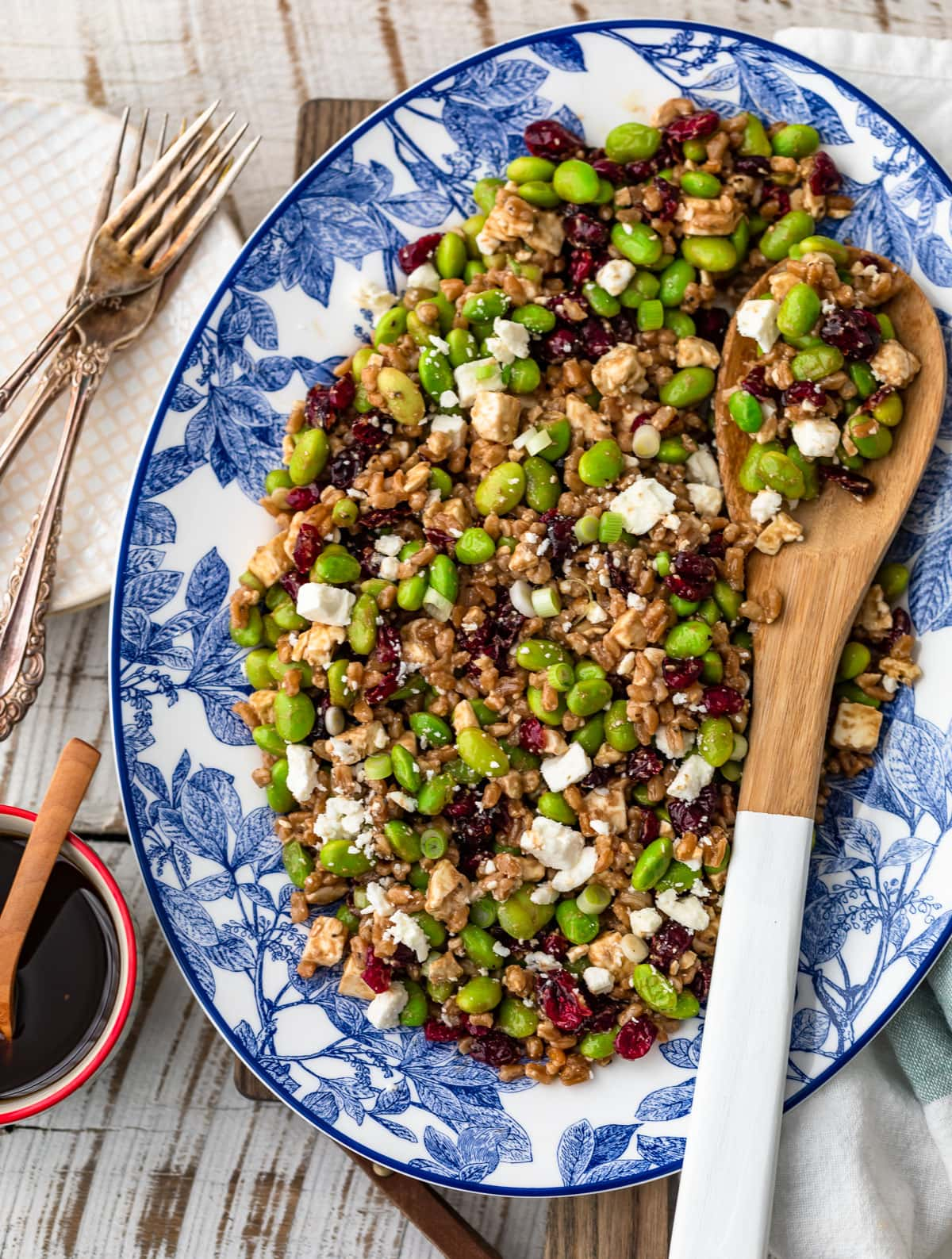 Balsamic Farro Salad