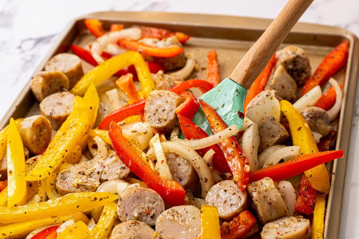 Carnes y verduras mixtas