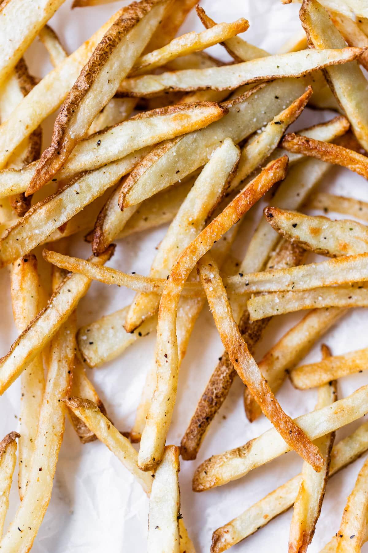 Seasoned air fryer french fries