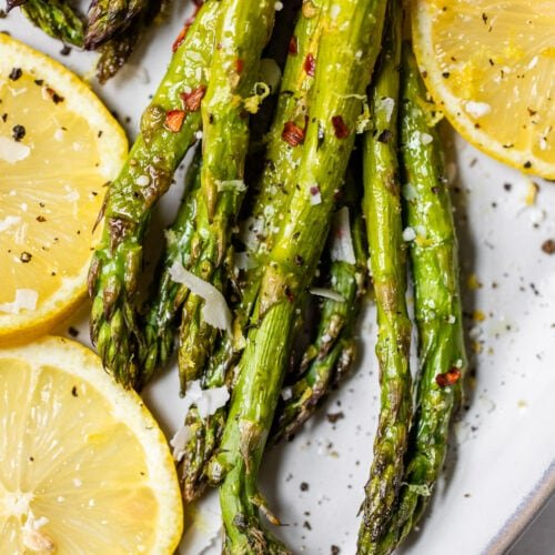 Roasted Asparagus Easy Perfect Wellplated Com