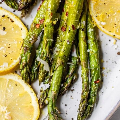 Roasted Asparagus Easy Perfect Wellplated Com
