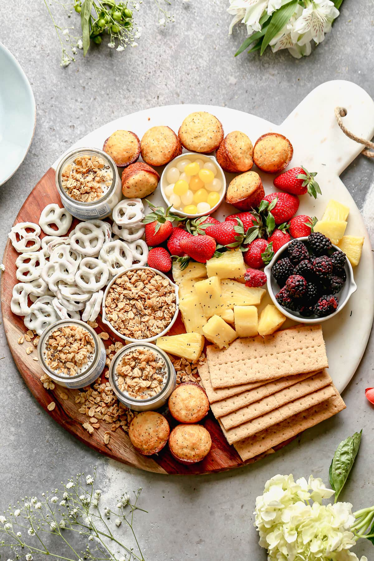 Sweet Brunch Snacking Board