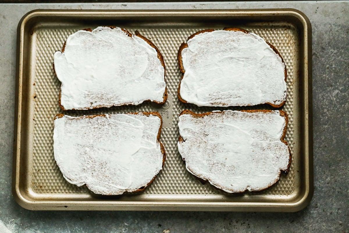 bread with greek yogurt for blt recipe