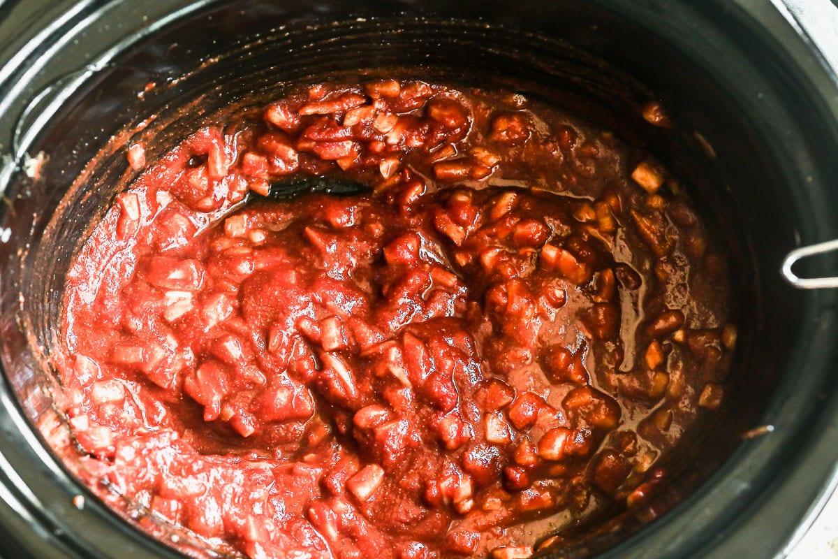 slow cooker pulled pork bbq sauce