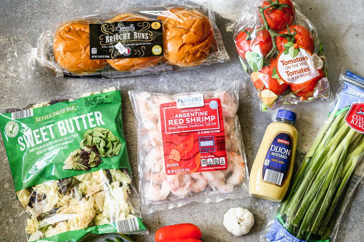 shrimp burger recipe ingredients