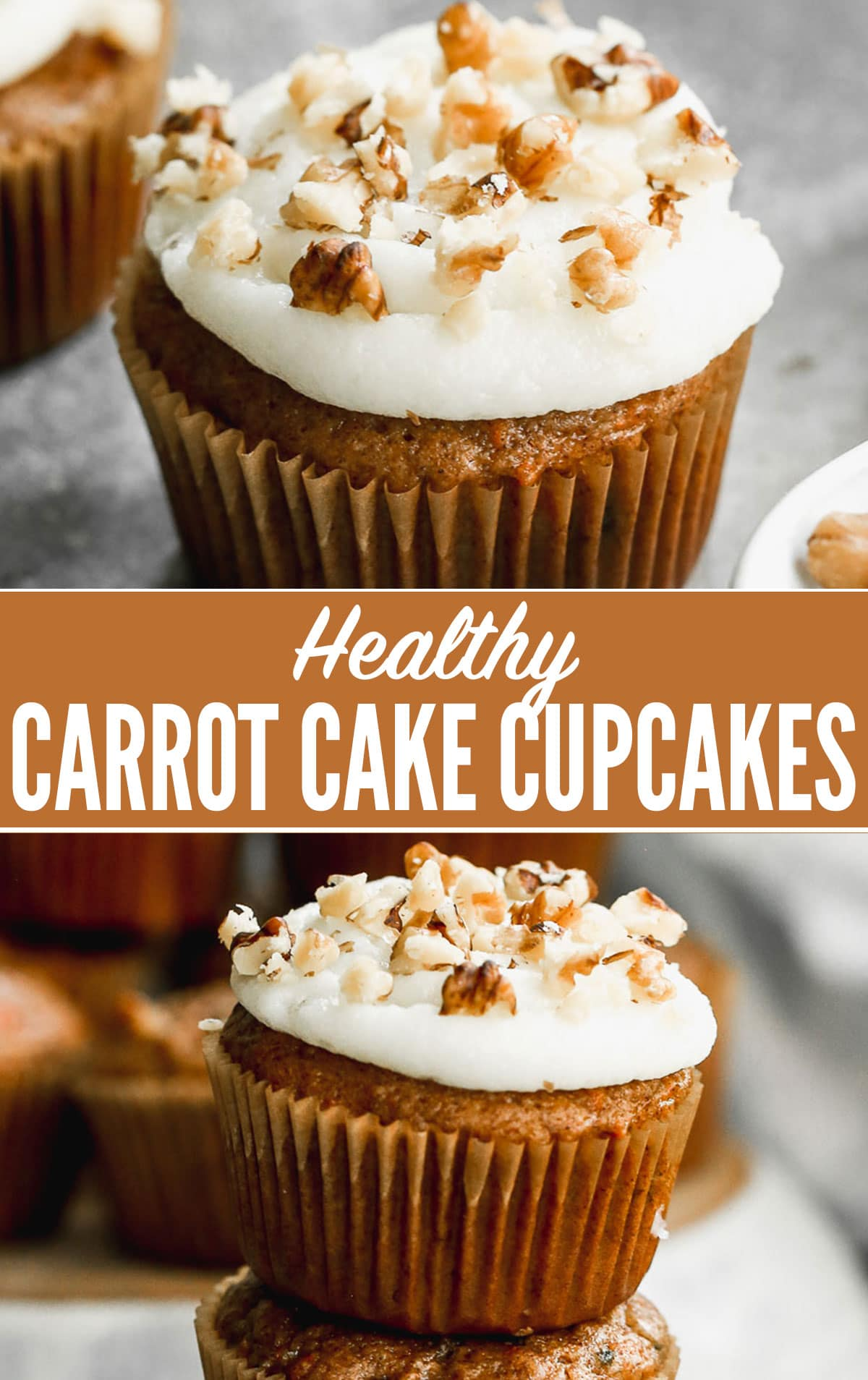 Best Healthy Carrot Cake Cupcakes Recipe
