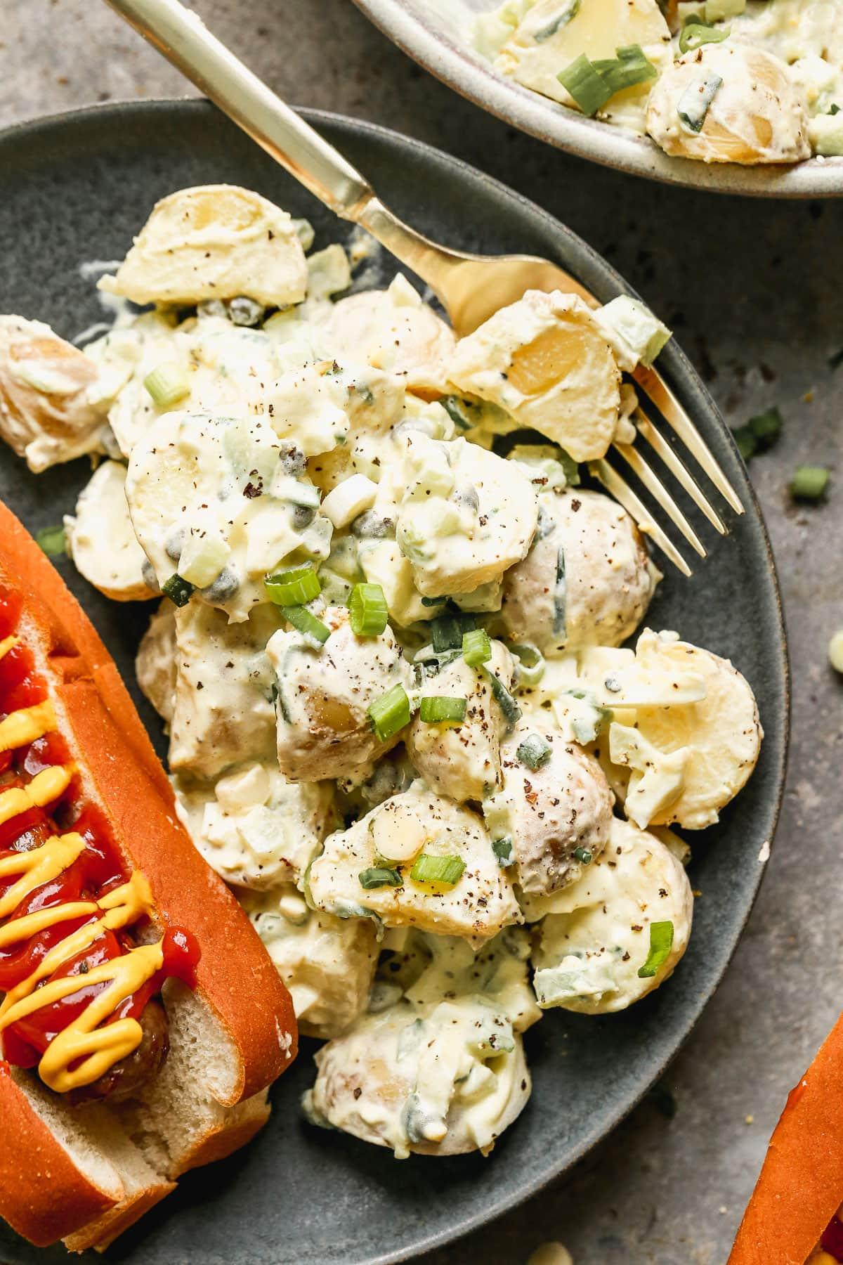 creamy potato salad without mayo