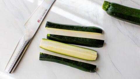 easy sliced zucchini