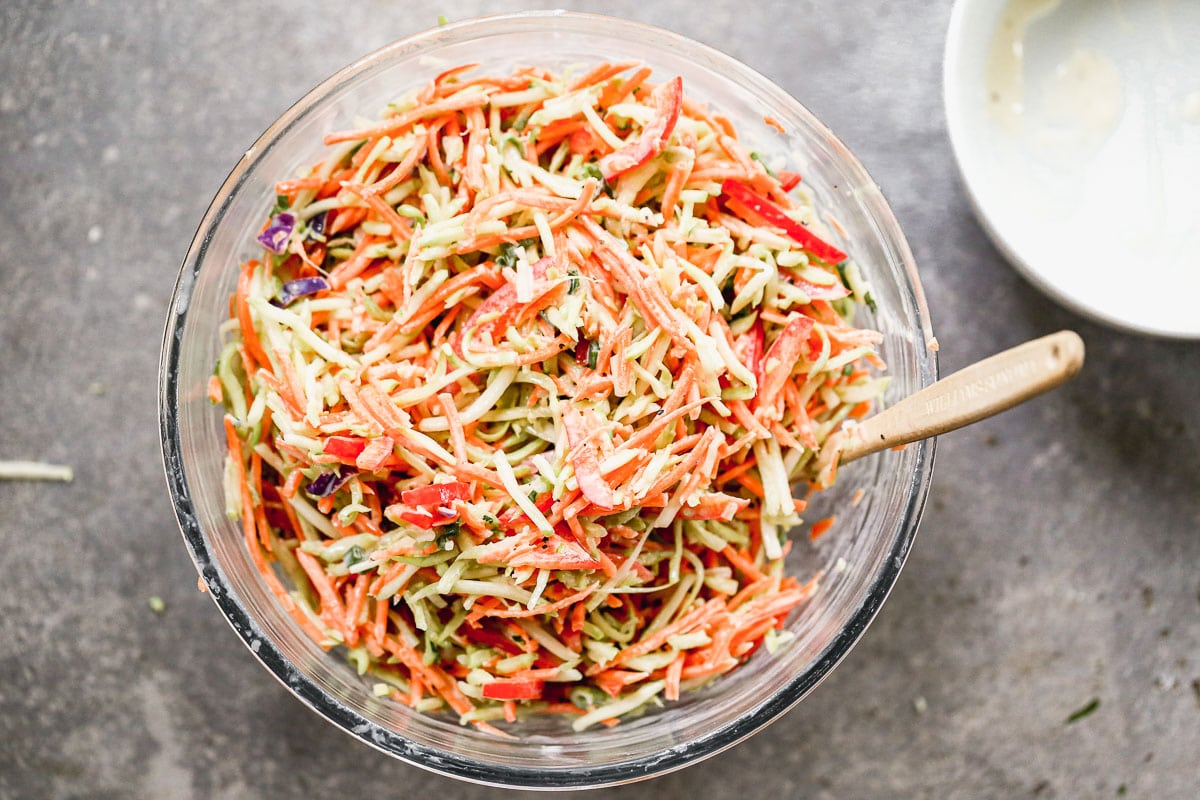 simple healthy coleslaw without mayo