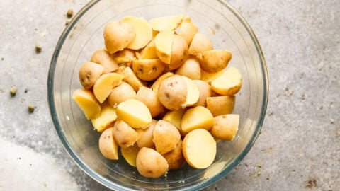 the type of potatoes to use in healthy potato salad