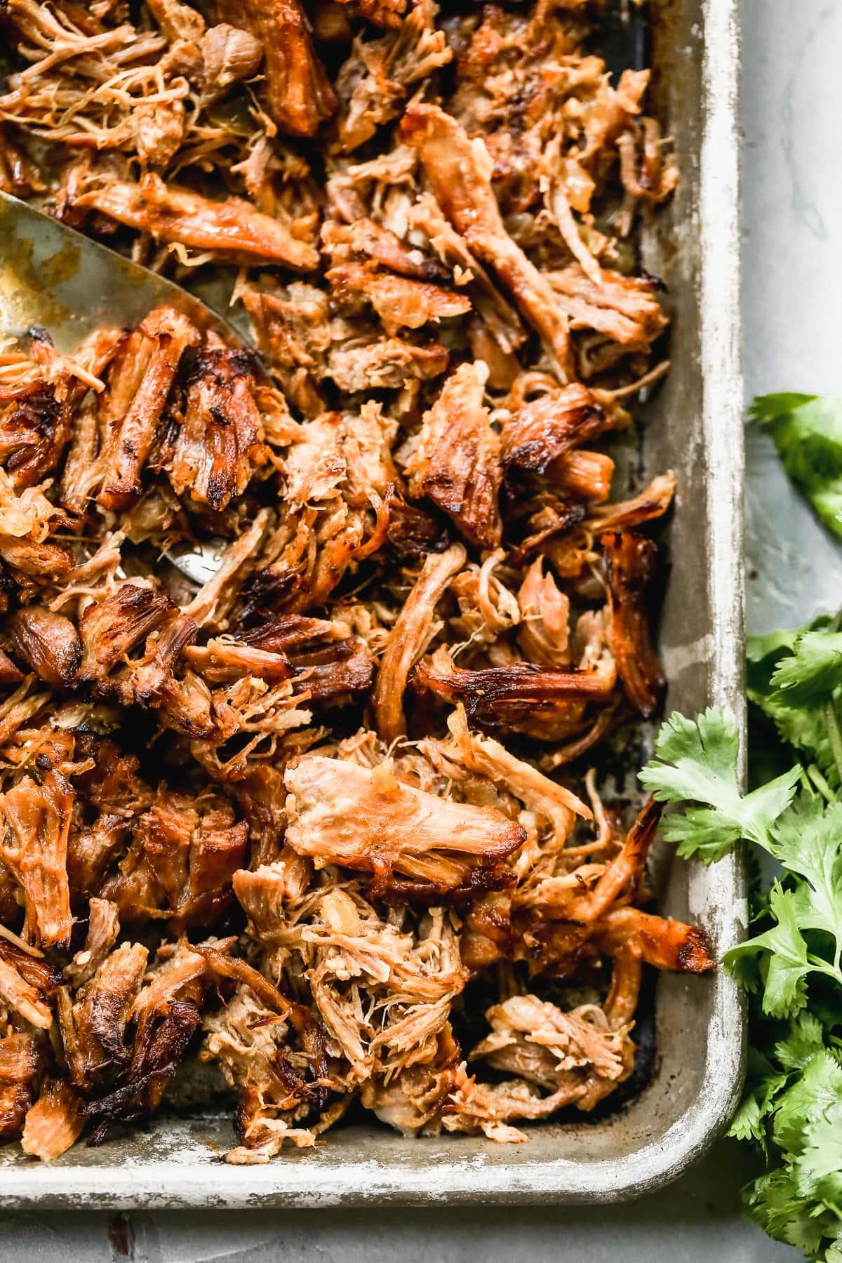 crispy instand pot pork carnitas